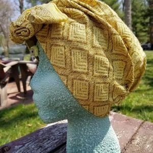 Gold Gypsy Hat
